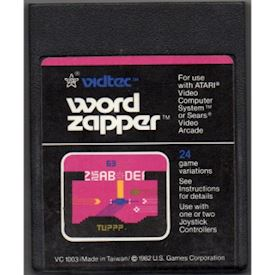 WORD ZAPPER ATARI 2600