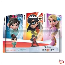 DISNEY INFINITY GIRL POWER PACK WII, WII U,360,PS3,3DS