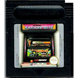 MIDWAY ARCADE HITS SPYHUNTER MOON PATROL GAMEBOY COLOR