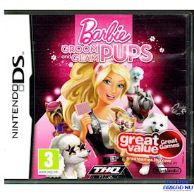 BARBIE GROOM AND GLAM PUPS DS
