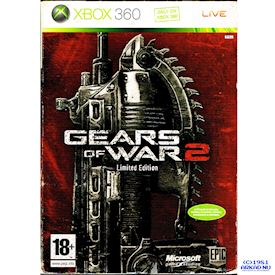 GEARS OF WAR 2 LIMITED EDITION XBOX 360