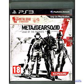 METAL GEAR SOLID 4 GUNS OF THE PATRIOTS 25TH  ANNIVERSARY EDITION PS3