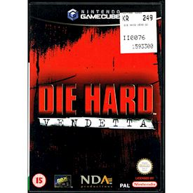 DIE HARD VENDETTA GAMECUBE