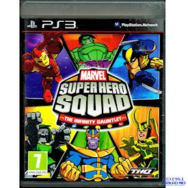 MARVEL SUPER HERO SQUAD THE INFINITE GAUNTLET PS3
