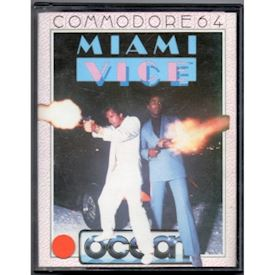 MIAMI VICE C64 TAPE