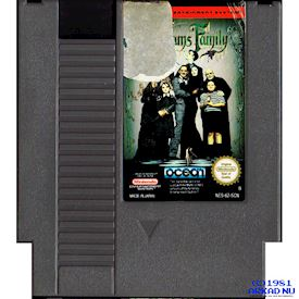 THE ADDAMS FAMILY NES SCN