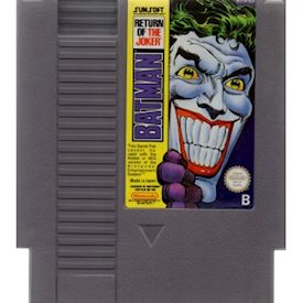 BATMAN RETURN OF THE JOKER NES SCN