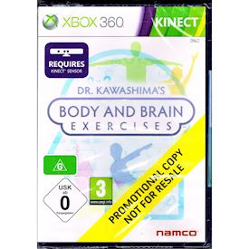 DR KAWASHIMAS BODY AND BRAIN EXERCISES XBOX 360
