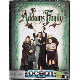 THE ADDAMS FAMILY AMIGA