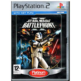 STAR WARS BATTLEFRONT II PS2