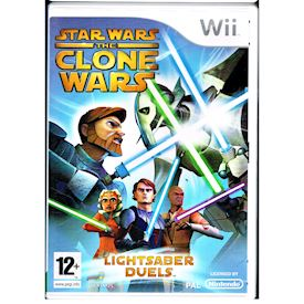 STAR WARS THE CLONE WARS LIGHTSABER DUELS WII