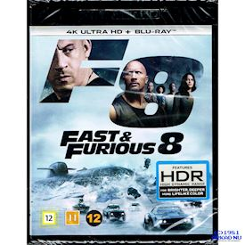 FAST & THE FURIOUS 8 4K ULTRA HD + BLU-RAY
