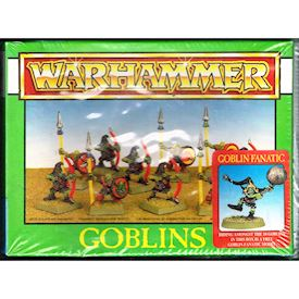 GOBLINS W GOBLIN FANATIC WARHAMMER GAMES WORKSHOP 1994