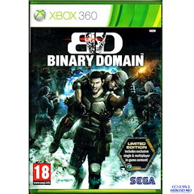 BINARY DOMAIN XBOX LIMITED EDITION 360