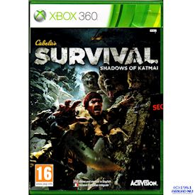 CABELAS SURVIVAL SHADOWS OF KATMAI XBOX 360