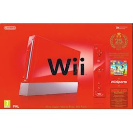 NINTENDO WII NEW SUPER MARIO BROS 25TH ANNIVERSARY EDITION