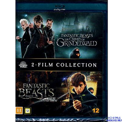 FANTASTIC BEASTS 2 FILM COLLECTION BLU-RAY