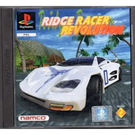RIDGE RACER REVOLUTION PS1
