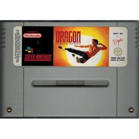 DRAGON THE BRUCE LEE STORY SNES