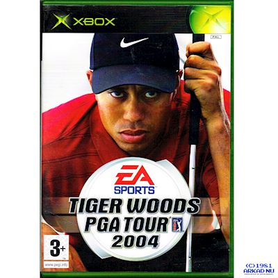 TIGER WOODS PGA TOUR 2004 XBOX