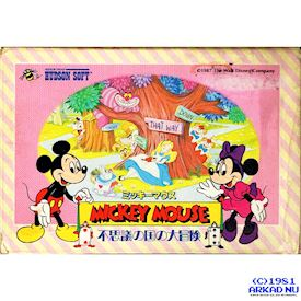 MICKEY MOUSE FAMICOM