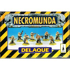 DELAQUE NECROMUNDA GAMES WORKSHOP 1995