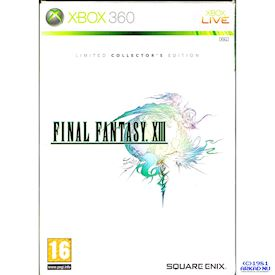 FINAL FANTASY XIII LIMITED COLLECTORS EDITION XBOX 360