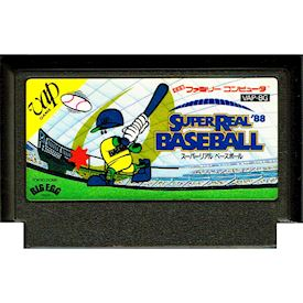 SUPER REAL BASEBALL 88 FAMICOM