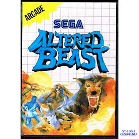 ALTERED BEAST MASTER SYSTEM