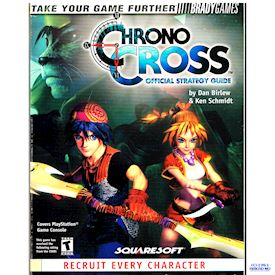 CHRONO CROSS OFFICIAL STRATEGY GUIDE BRADY GAMES