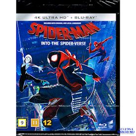 SPIDER-MAN INTO THE SPIDER-VERSE 4K ULTRA HD + BLU-RAY