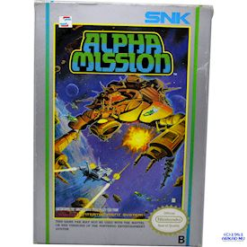 ALPHA MISSION NES