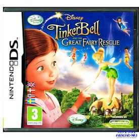 TINKERBELL AND THE GREAT FAIRY RESCUE DS
