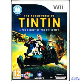 TINTIN THE SECRET OF THE UNICORN WII