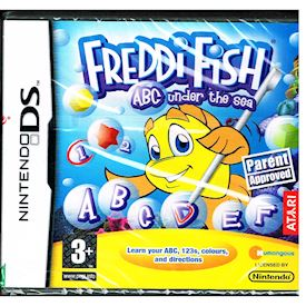 FREDDI FISH ABC UNDER THE SEA DS