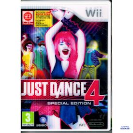 JUST DANCE 4 SPECIAL EDITION WII