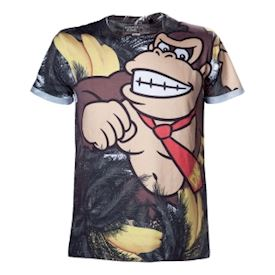 DONKEY KONG ALLOVER T-SHIRT