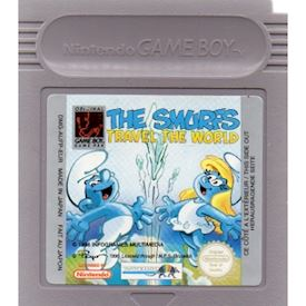 THE SMURFS TRAVEL THE WORLD GAMEBOY