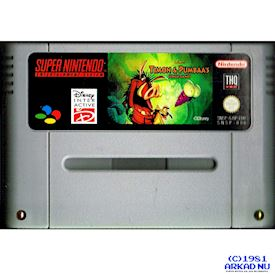 TIMON AND PUMBAA JUNGLE GAMES SNES