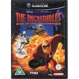 THE INCREDIBLES RISE OF THE UNDERMINER GAMECUBE