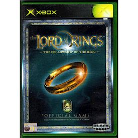 THE LORD OF THE RINGS THE FELLOWSHIP OF THE RING XBOX
