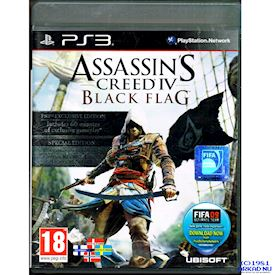 ASSASSINS CREED IV BLACK FLAG SPECIAL EDITION PS3
