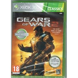 GEARS OF WAR 2 XBOX 360 NYTT