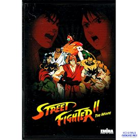 STREET FIGHTER II THE MOVIE DVD