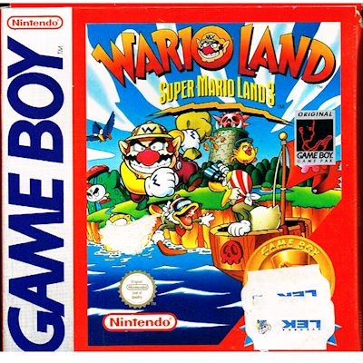 SUPER MARIO LAND 3 WARIO LAND GAMEBOY