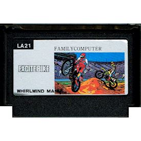 EXCITE BIKE BOOTLEG FAMICOM