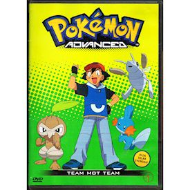 POKEMON ADVANCED TEAM MOT TEAM DVD