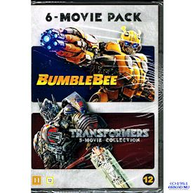 BUMBLEBEE + TRANSFORMERS 6 MOVIE PACK DVD
