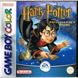 HARRY POTTER AND THE PHILOSOPHERS STONE GBC SCN