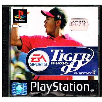 TIGER WOODS 99 PS1